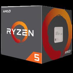 Процессор AMD Ryzen 5 1600, 3.2ГГц, (Turbo 3.6ГГц), 6-ядерный, L3 16МБ, Сокет AM4, BOX